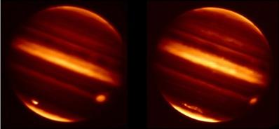 Uderzenie w Jowisza planetoidy w 2009r.