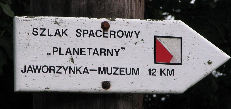 Drogowskaz do Jaworzynki