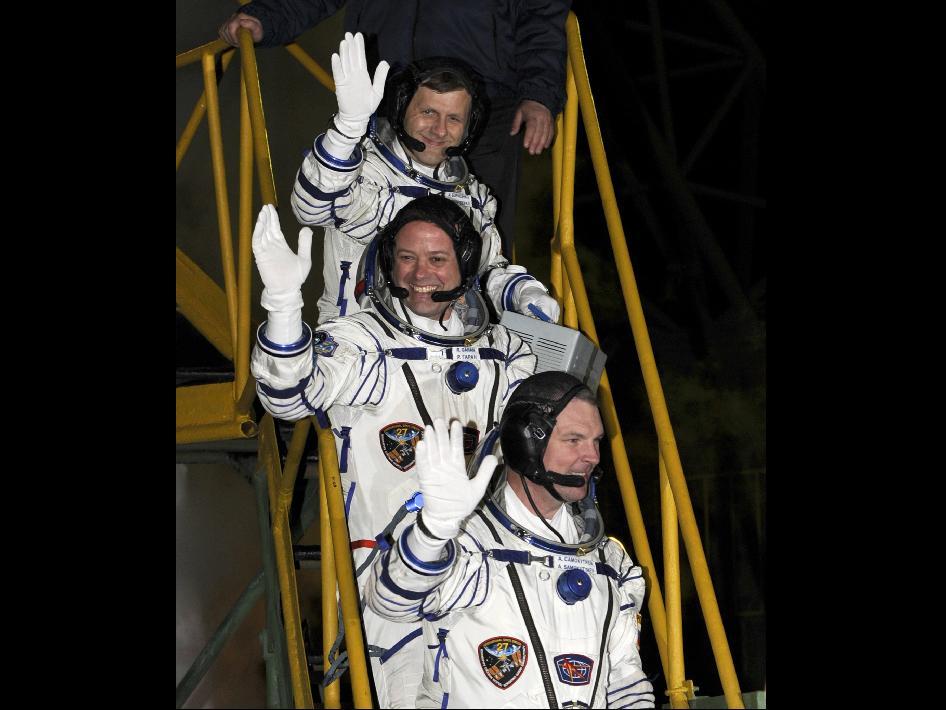 Przed startem Sojuza TMA-21