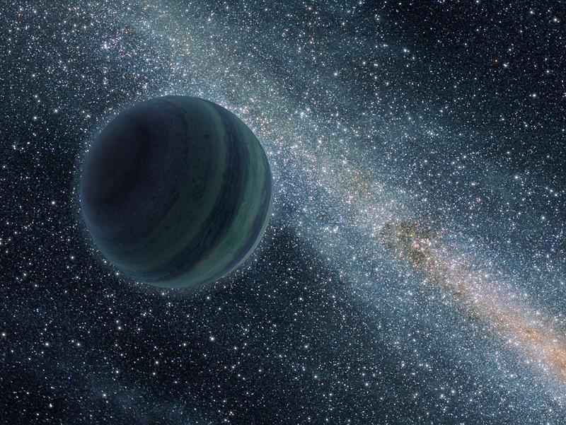 Planeta swobodna, nienależąca do żadnego układu planetarnego