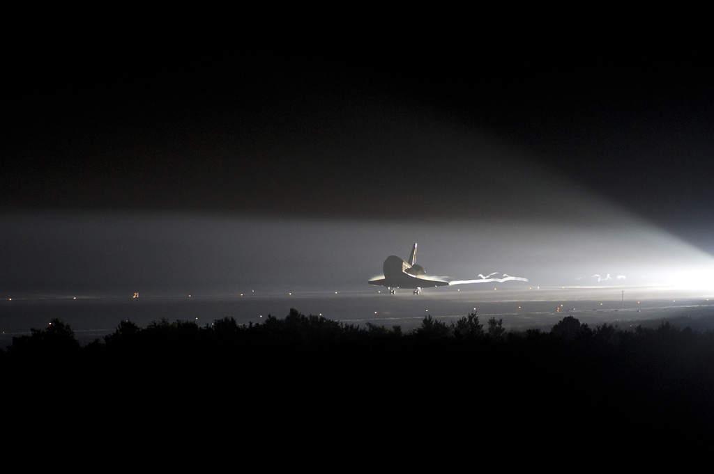 """Ostatnie lądowanie promu """"Endeavour"""""""