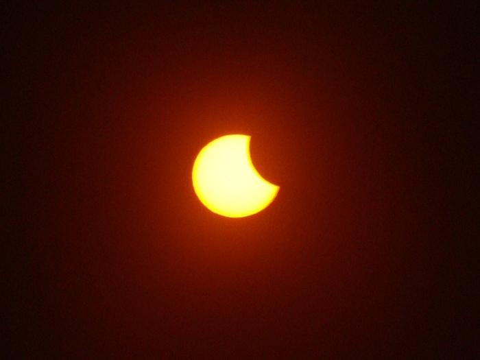 Zaćmienie Słońca, 1 czerwca 2011 (I)