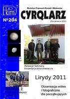 Okładka 204. numeru Cyrqlarza