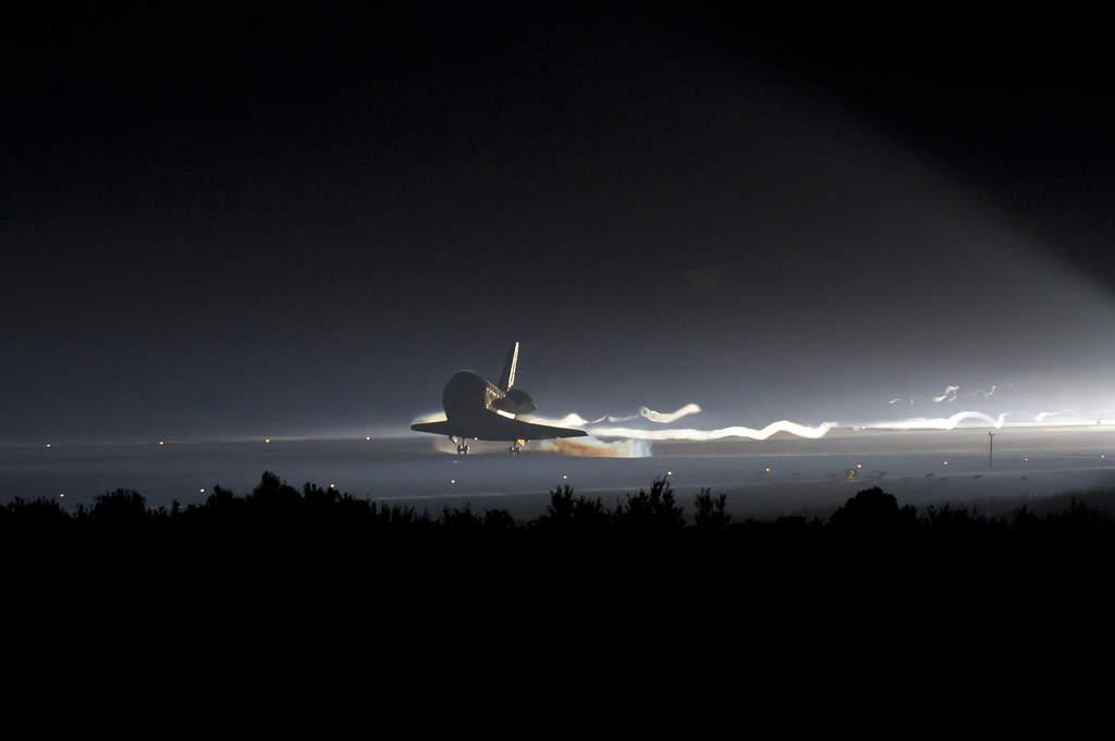 STS-135, lądowanie