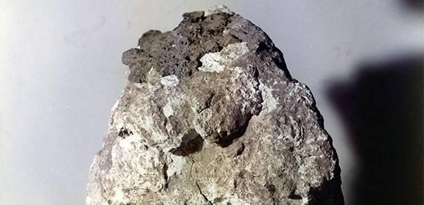 próbka skały ksieżycowej