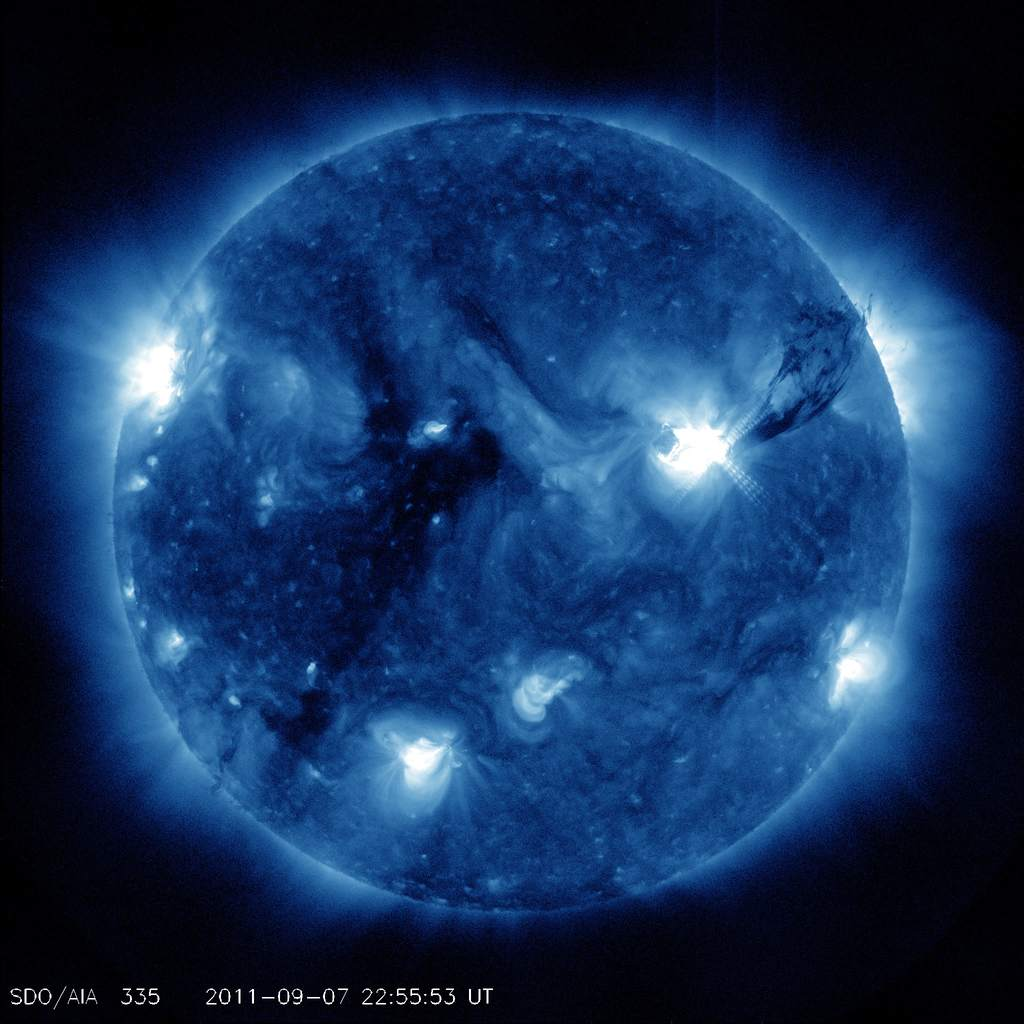 plama słoneczna 1283