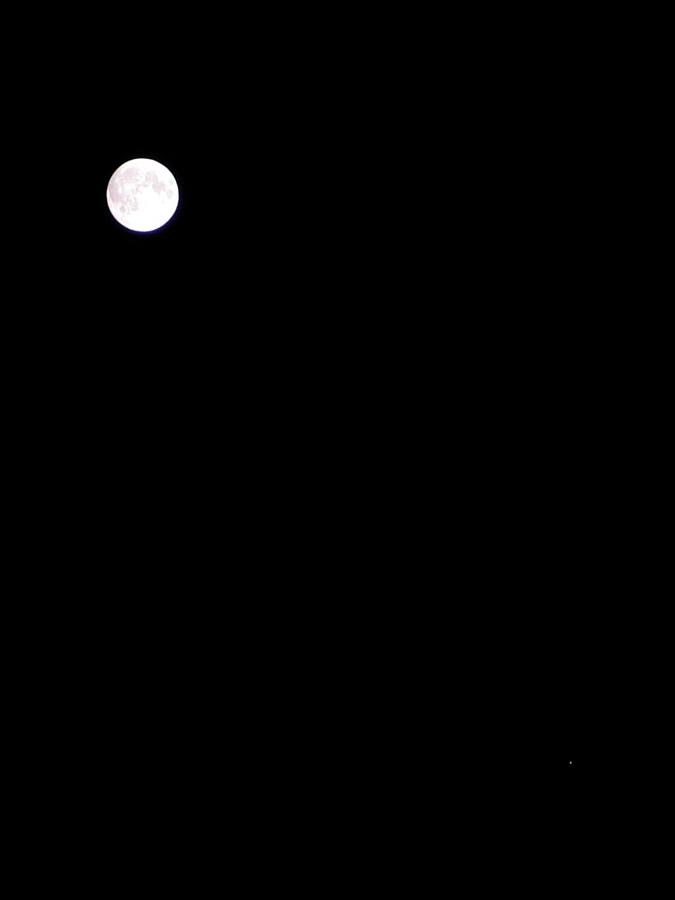Księżyc i Jowisz, 9 listopada 2011