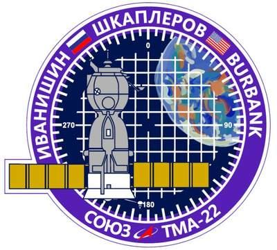 Logo misji Sojuz TMA-22