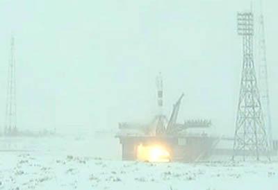 Start Sojuza TMA-22
