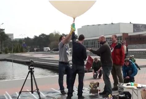BRITE-PL - test balonów