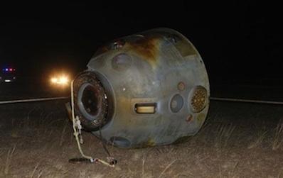 Shenzhou-8 po lądowaniu