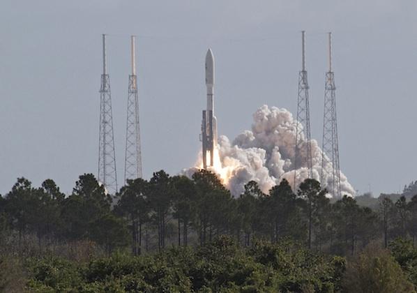 """Atlas 5 startuje z """"Curiosity"""" (I)"""
