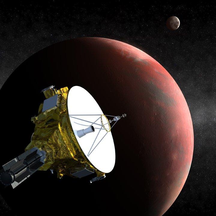 New Horizon - badanie wody na Plutonie