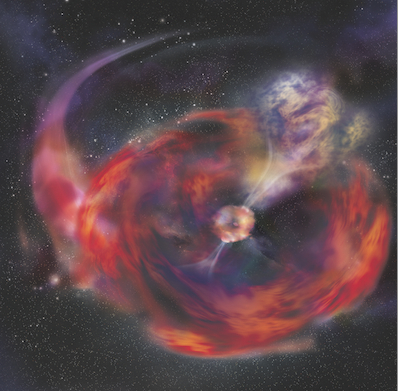 GRB 101225A - supernowa