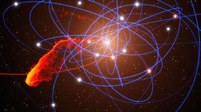 Schemat centrum Drogi Mlecznej