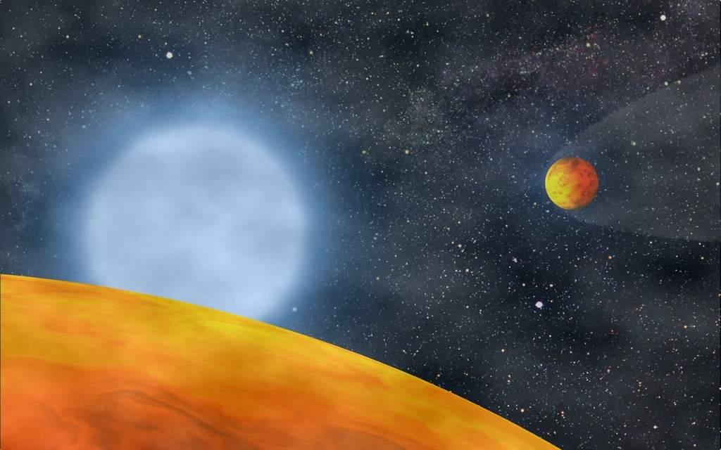 Planety KOI 55.01 i KOI 55.02