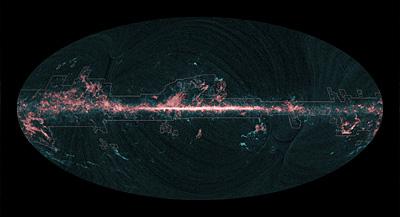 Planck - rozkład CO