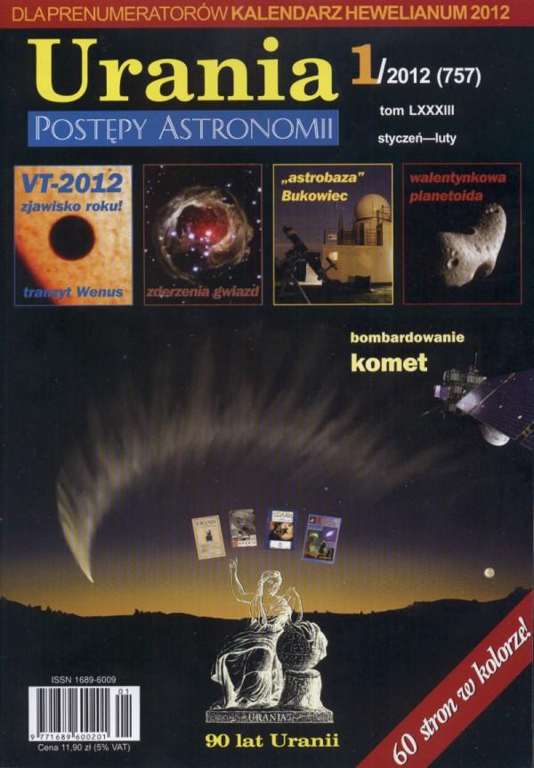 """Urania - Postępy Astronomii"" nr 1/2012"
