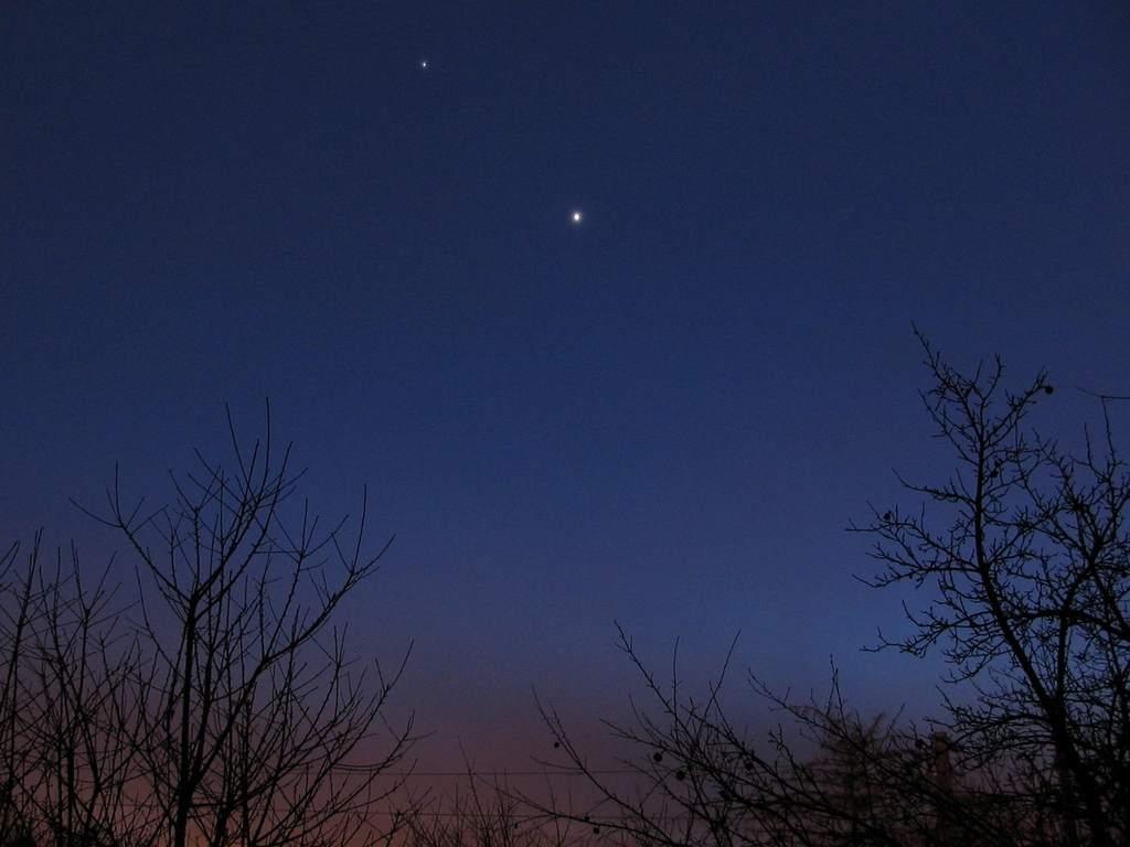 Wenus i Jowisz, 4 marca 2012