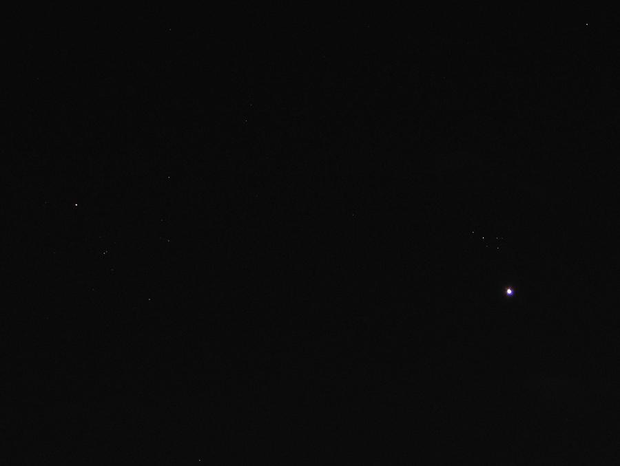 Nowa gwiazda w Plejadach (zdjęcie)