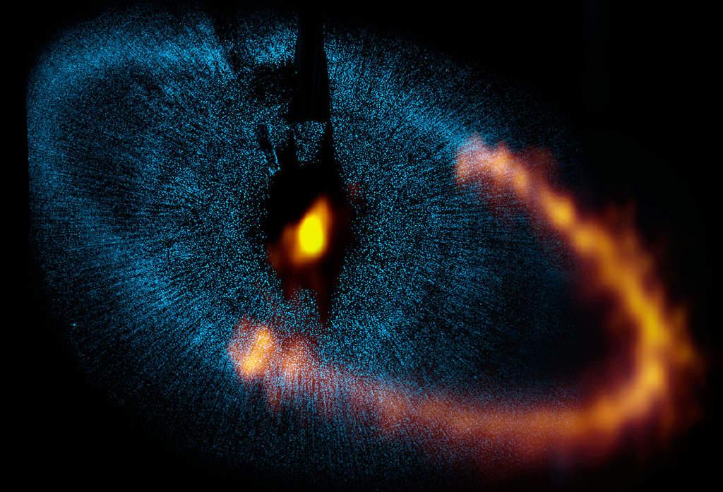 ALMA obserwuje pierścień wokół jasnej gwiazdy Fomalhaut