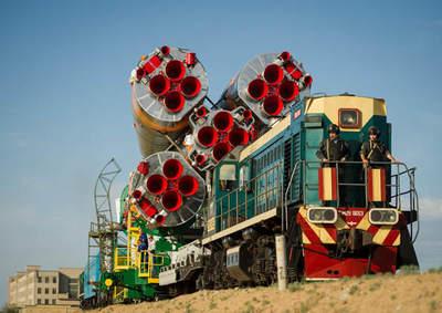 Transport rakiety Sojuz