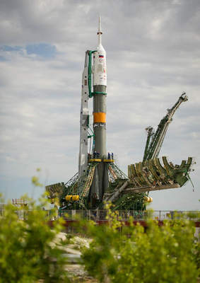 Sojuz czeka na start