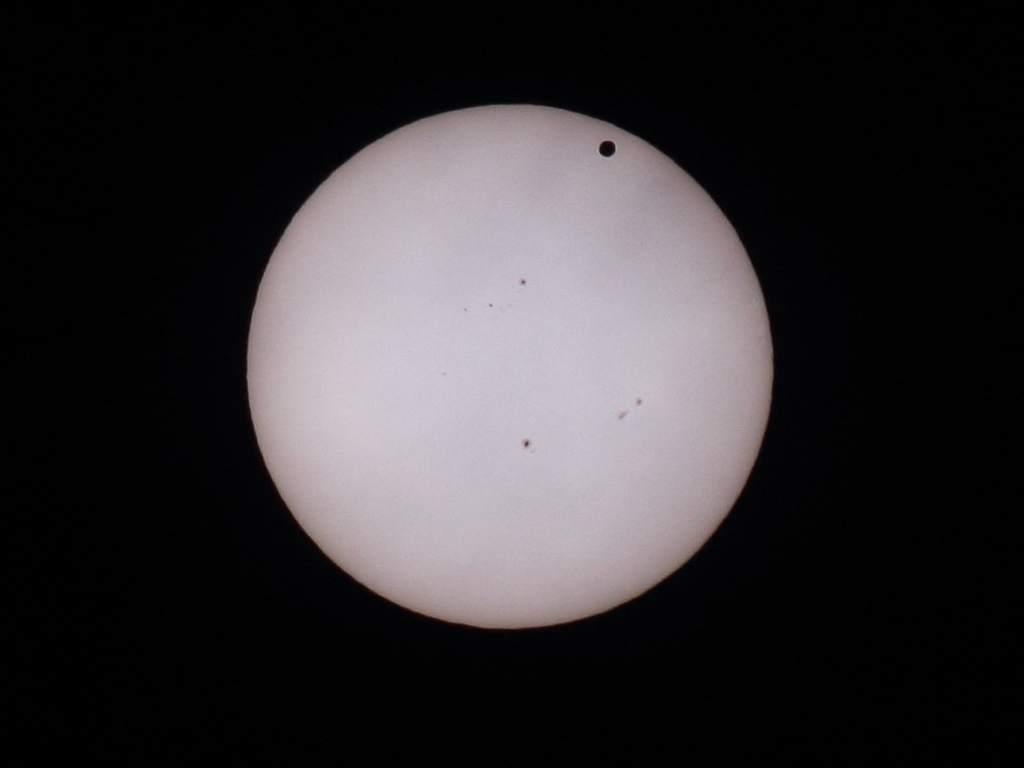 Przejście Wenus przedtarcza słoneczną (II)