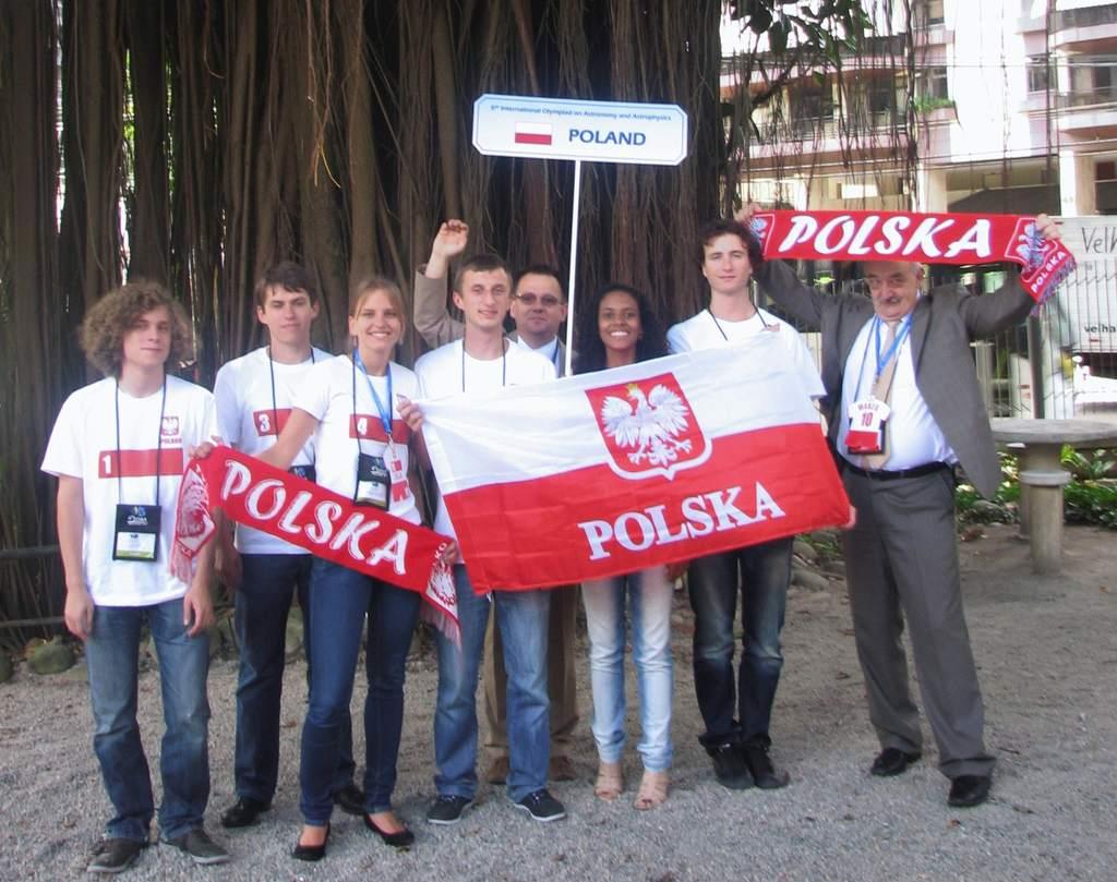 6. IOAA, reprezentacja Polski
