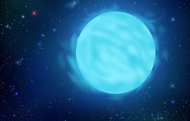 Masywna gwiazda w R136