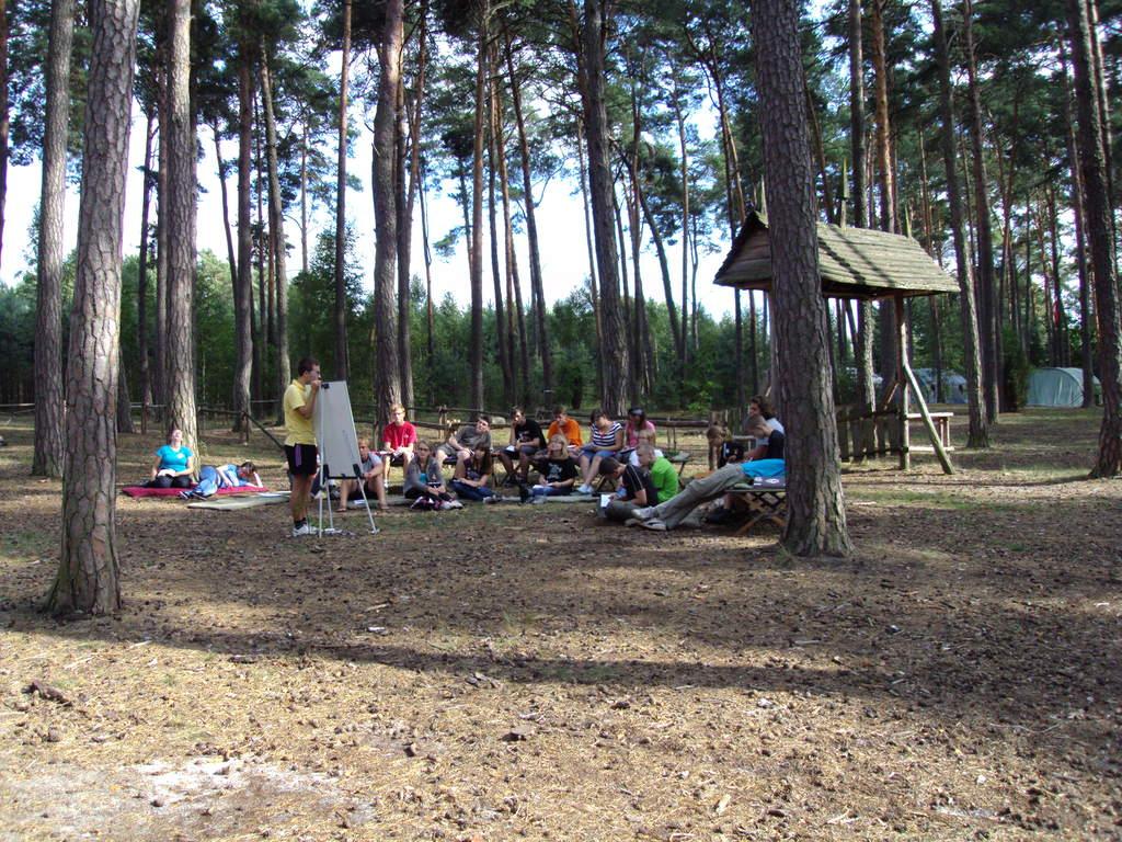 Obóz dla nowego naboru (2012) - zajęcia
