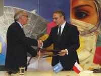Podpisanie umowy o przyjęciu Polski do ESA