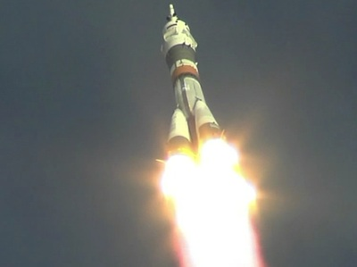 Start Sojuza TMA-06M