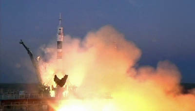 Start Sojuza TMA-07M