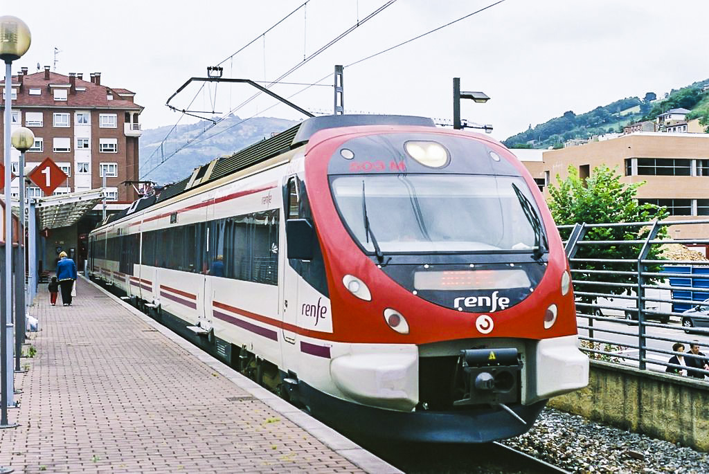 Kolej w Hiszpanii