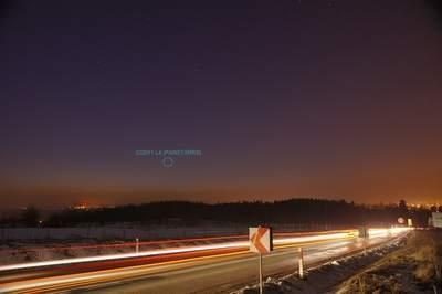 Kometa PANSTARRS, zdjęcia Andrzeja Karonia (I, miniatura)