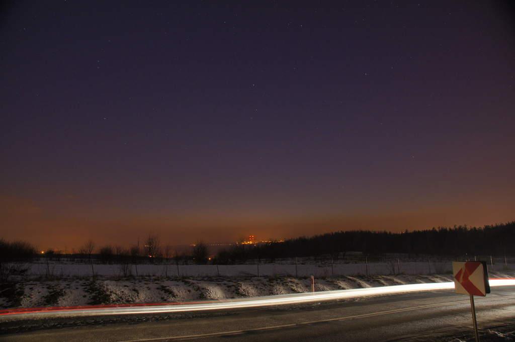 Kometa PANSTARRS, zdjęcia Andrzeja Karonia (II)