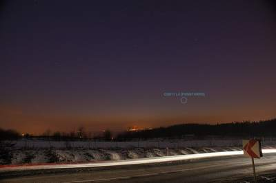Kometa PANSTARRS, zdjęcia Andrzeja Karonia (II, miniatura)