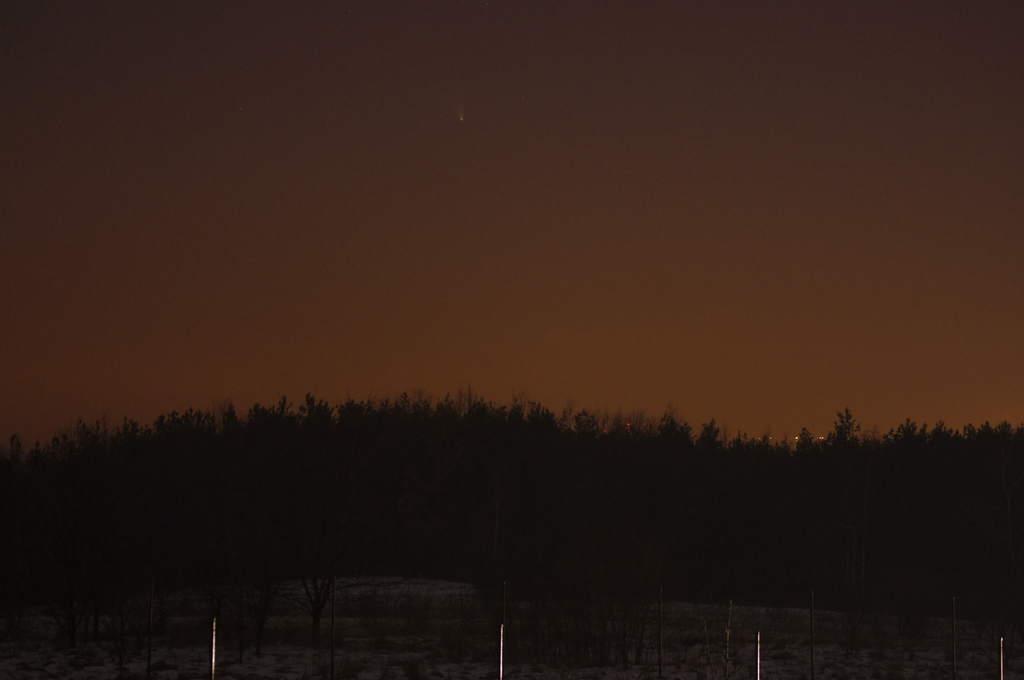 Kometa Pan-STARRS, zdjęcie Andrzeja Karonia (III)