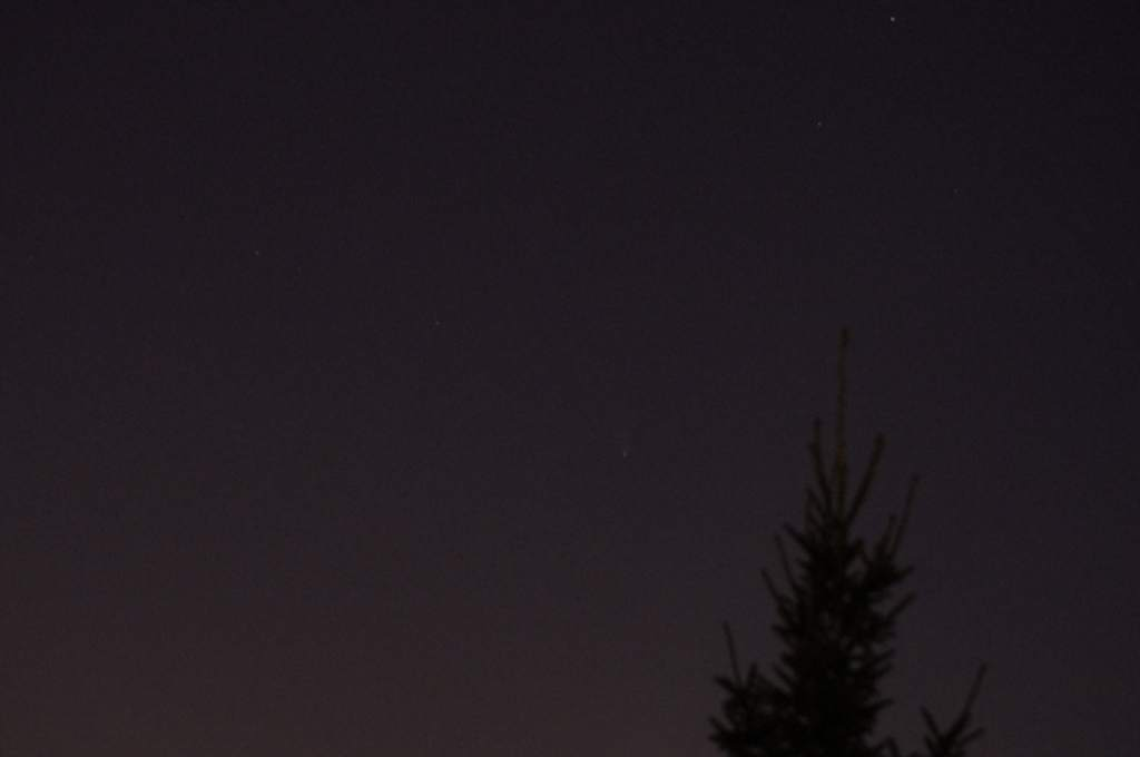 Kometa Pan-STARRS, zdjęcie Mariusza Stańka (I)