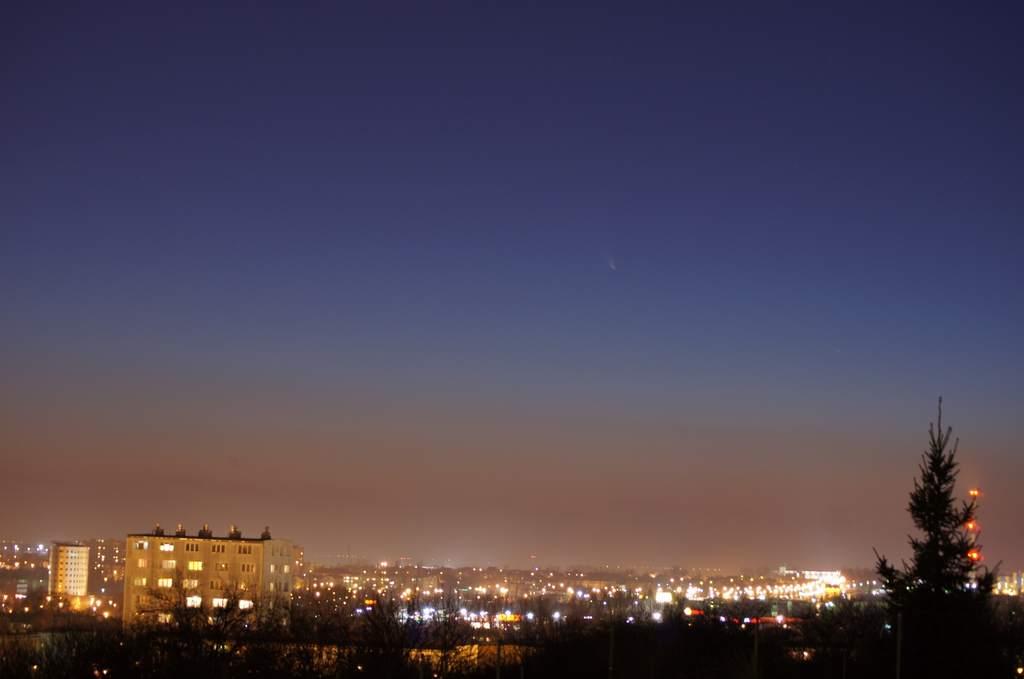Kometa Pan-STARRS, zdjęcie Mariusza Stańka (III)