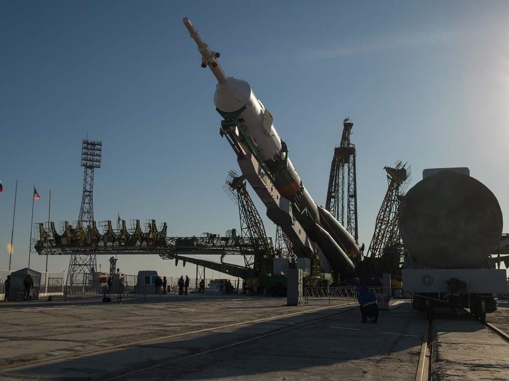 Sojuz - przygotowania do startu