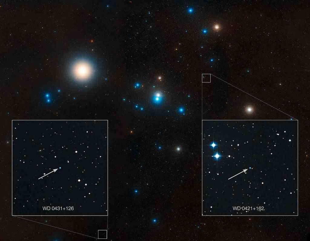 Lokalizacja tych białych karłów w Hiadach, w atmosferze których wykryto resztki planet