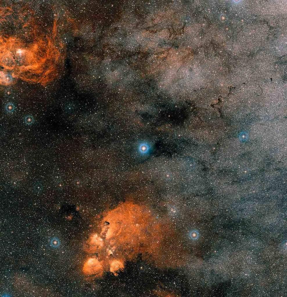 Zdjęcie okolic systemu Gliese 667C