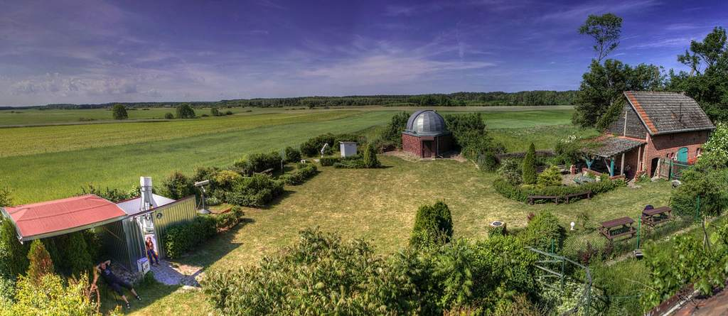 Widok na obserwatorium