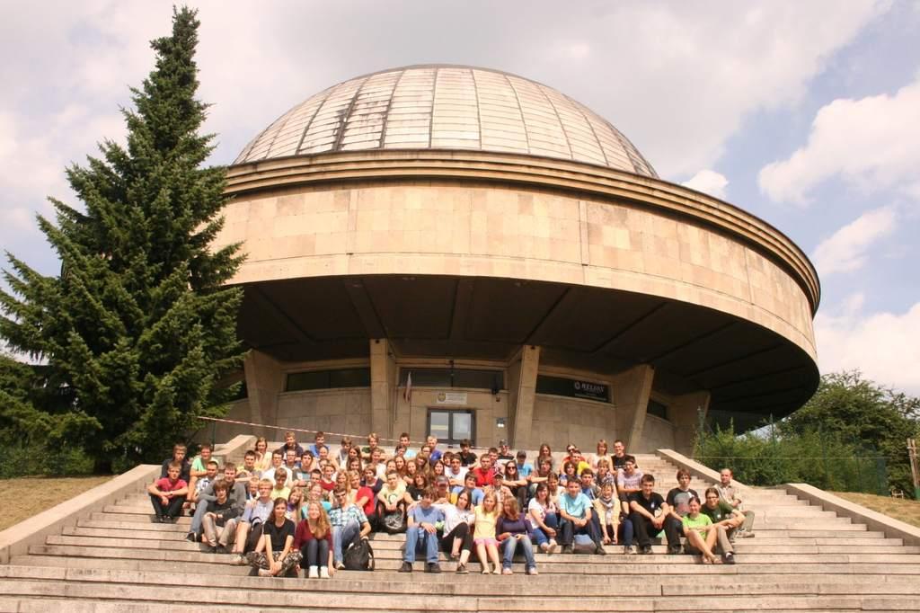 obóz dla młodszych 2013 - planetarium