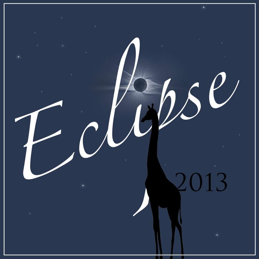 Logo wyprawy na hybrydowe zaćmienie Słońca 3 listopada 2013 r.