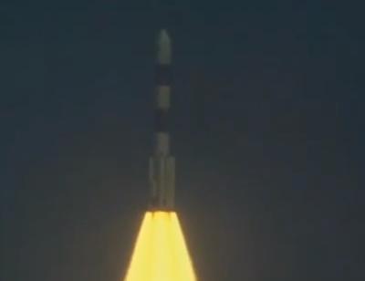 start PSLV-C25 wraz z sondą Mangalyaan