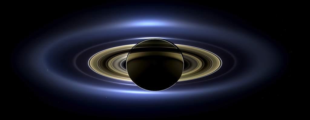 Saturn i inne planety - zdjęcie wykonane przez sondę Cassini