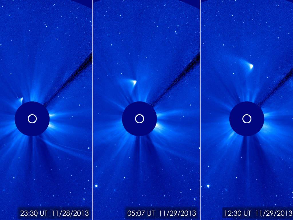 Kometa C/2012 S1 (ISON), 29 listopada 2013